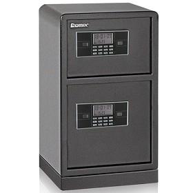 齐心(COMIX)BGX-78SI 加固型GA认证双层电子密码保管箱 A3全钢板M级保密