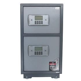 得力 deli)3647 保险箱 电子密码防盗保险柜保管箱 2层保险柜