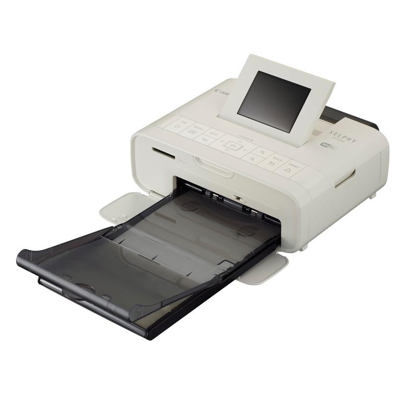 佳能(canon)selphy cp1200照片打印机(白色)