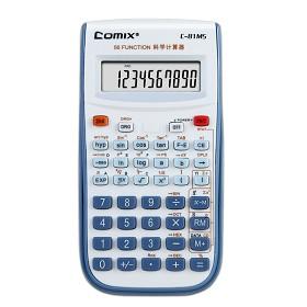 齐心(COMIX)C-81MS 小台小学通函数计算器 10位