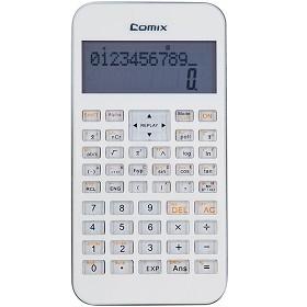 齐心(COMIX)C-5S 科学函数计算器/计算机 12位 白色