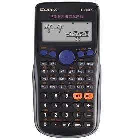 齐心(comix)C-86ES 中台理科通函数计算器 12位
