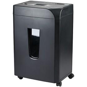 齐心(COMIX)S338 多功能静音办公电动碎纸机 黑色