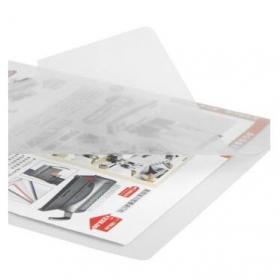 齐心(COMIX)E310-1 二页文件保护套 A4单片夹 L型夹保护袋文件袋 单个装