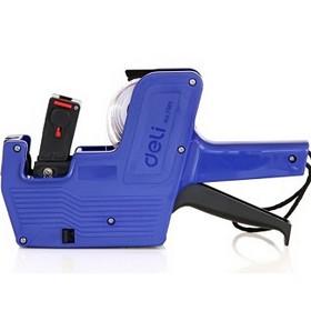 得力(deli)7501 单排标价机/打码器 8位 简约灵活 颜色随机