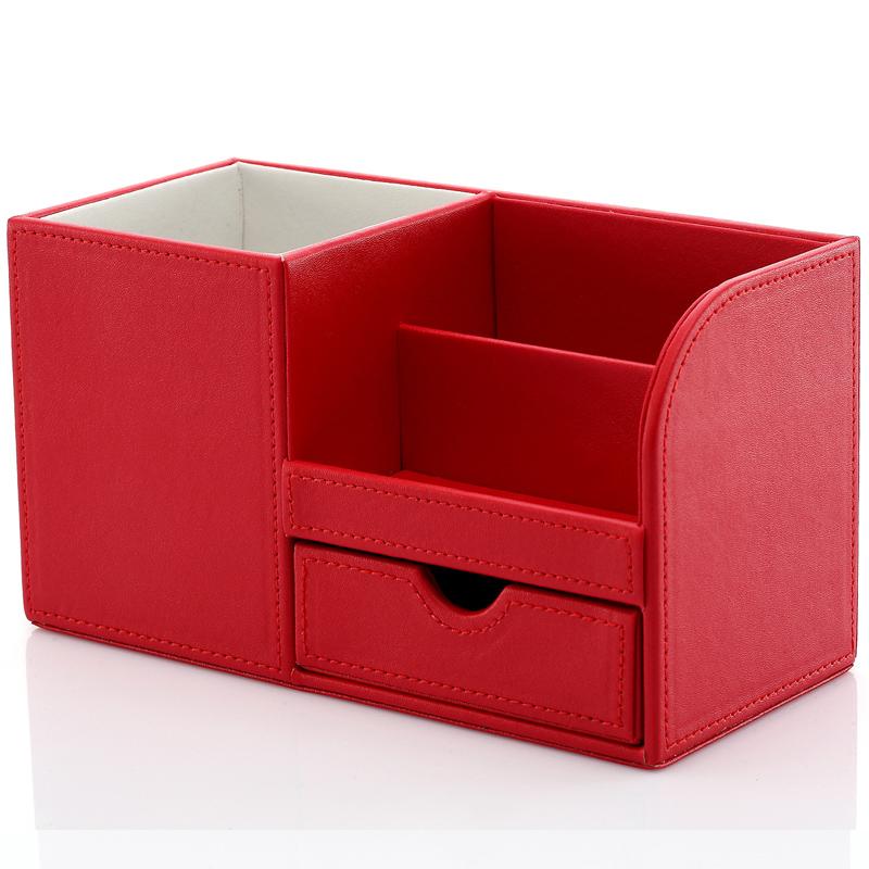 利蓝(leadland)笔筒 办公用品 多功能办公文具创意收纳盒 商务礼品图片