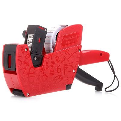三木(SUNWOOD)8178 8位单排标价机/打码机/打价机  红色