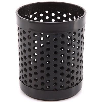 三木(SUNWOOD)6133 圆形透气笔筒/笔座 黑色
