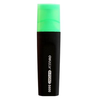 得力(deli) S600 标记醒目荧光笔(绿色) 单支装