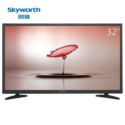 创维(Skyworth)32E361S 32英寸 窄边蓝光高清节能平板液晶电视 黑色
