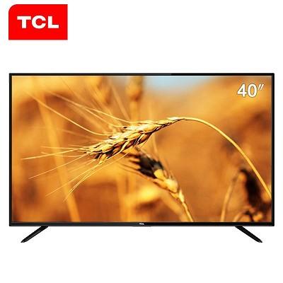 TCL L40F3303B 40英寸液晶电视 超窄边设计 时尚简洁