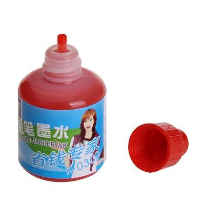 金万年(Genvana)K-0300 白板笔专用墨水 20ml 单支装 红色