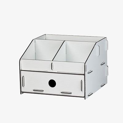 树德(Shuter)U5200L 拼装收纳架 白色