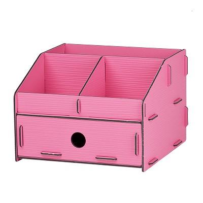 树德(Shuter)U5200L 拼装收纳架 粉色