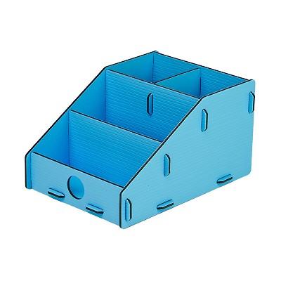 树德(Shuter)U5202L 拼装整理架 浅蓝色