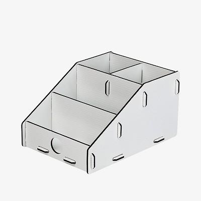 树德(Shuter)U5202L 拼装整理架 白色