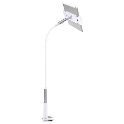 美逸(MEIYI)MY-606手机支架 平板支架 懒人支架 床上床头支架 双USB充电口 钛灰色