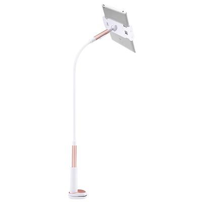 美逸(MEIYI)MY-606手机支架 平板支架 懒人支架 床上床头支架 双USB充电口 玫瑰金