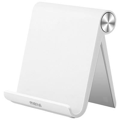 美逸(MEIYI)MY-K01桌面手机支架 可调节懒人支架 ipad平板手机通用 象牙白