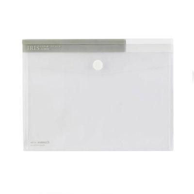 齐心(COMIX)A1769 文件袋粉彩粘扣袋 文件袋 资料袋 A4 白色