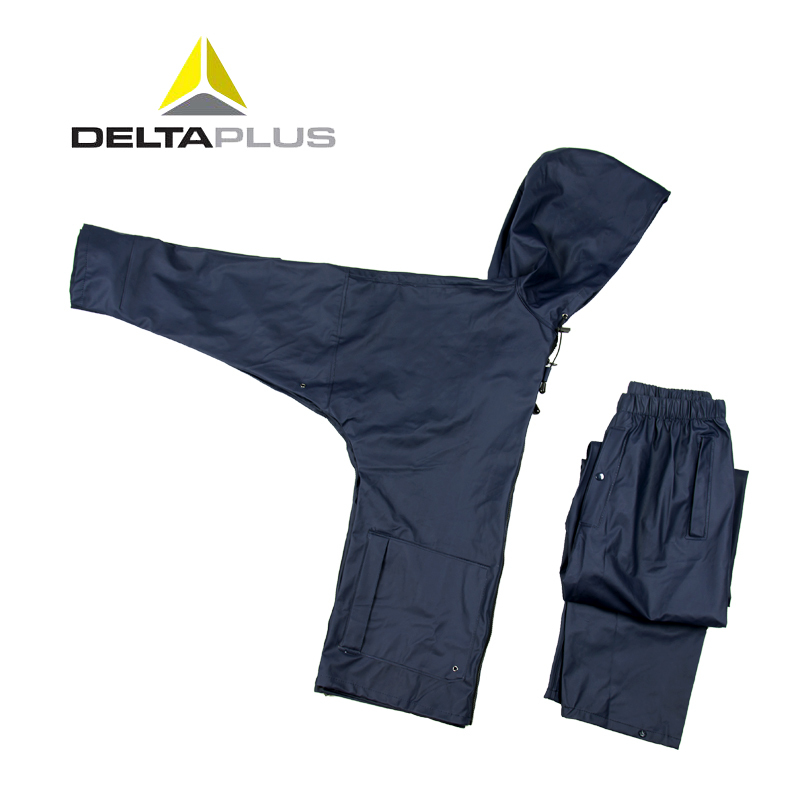 代尔塔防护服 男女 新款雨衣工装户外防风套装劳保服