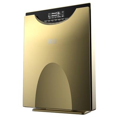 震旦(AURORA)AA-518 空气净化器 有效过滤80多种空气污染物 清新负离子、除PM2.5、去甲醛、异味 金色