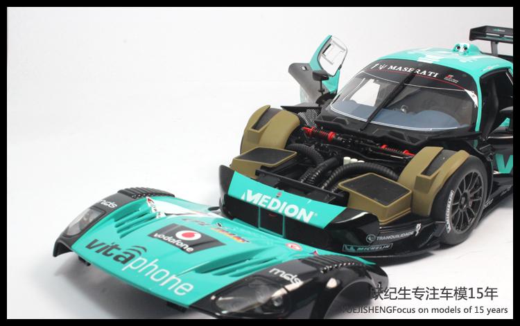 AUTOart奥拓合金汽车模型1 18 玛莎拉蒂MC12汽联GT1锦标赛2010 高清图片
